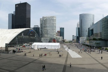 Parvis la Défense-Paris