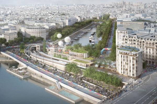 reinventer la seine-grand paris developpement, projets d'aménagement des bords de Seine, grand paris express