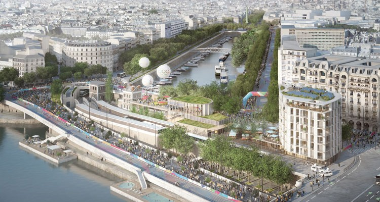 reinventer la seine-grand paris developpement, projets d'aménagement des bords de Seine, grand paris express