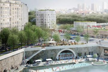 L'atelier de l'Arsenal, le projet pour la place Mazas (12e), à la jonction de la Seine et du bassin de l'Arsenal