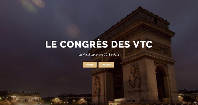 La première édition du congrès des VTC, à l'espace Champerret (17e)