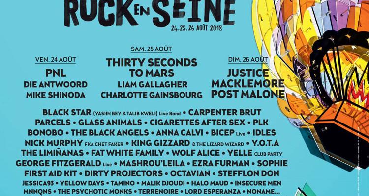 Le festival Rock en Seine, grand raout estival du Domaine national du parc de Saint-Cloud (92)