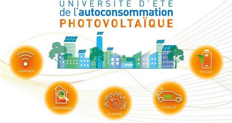 L'Université d'été de l'autoconsommation pho-tovoltaïque, organisée par Enerplan, au CESE du palais d'Iéna (7e)