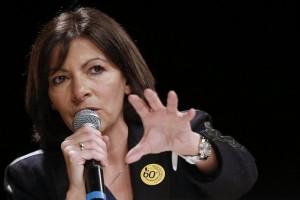 la candidate PS à la mairie de Paris y a vanté un modèle d'urbanisme pour la métropole