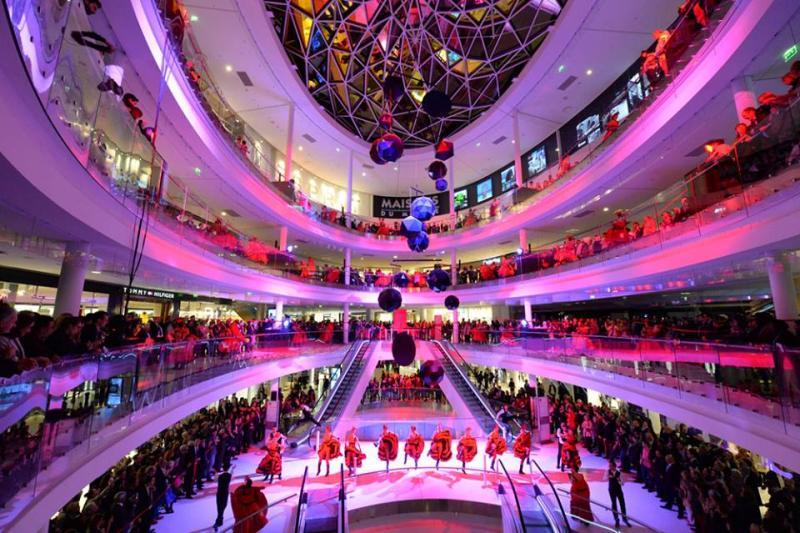 Inauguration du centre commercial Beaugrenelle à Paris