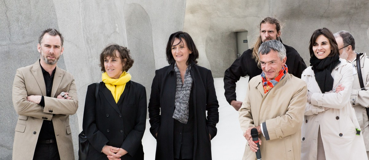 l'équipe qui a conçu et dirigé la rénovation du zoo de Vincennes
