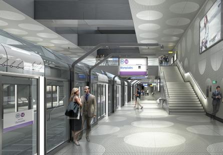 une partie des travaux de prolongement de la ligne 14 commencera cet été