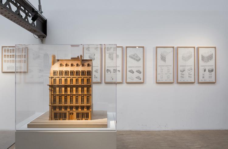 Haussmann-View of the exhibition©AntoineEspinasseau